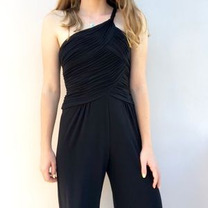 Adrianna Papell Boutique One Shoulder Jumpsuit 2